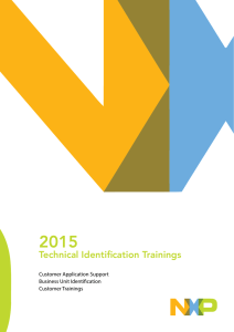 Technical Identification Trainings