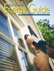 Energy Guide - Slope Electric Cooperative
