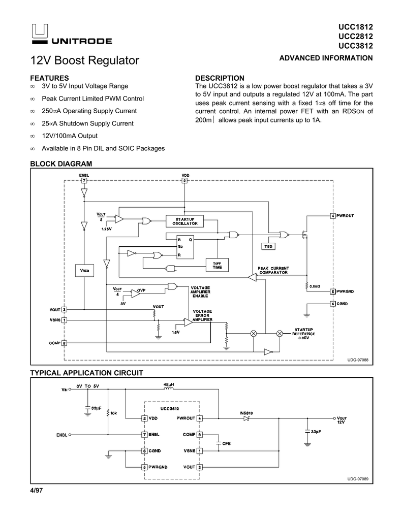 Ucc2812 Regulator Current Booster