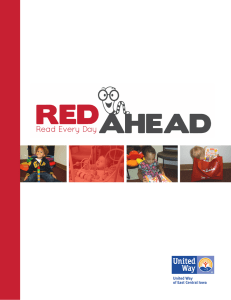 RED Ahead was Born. - United Way of East Central Iowa