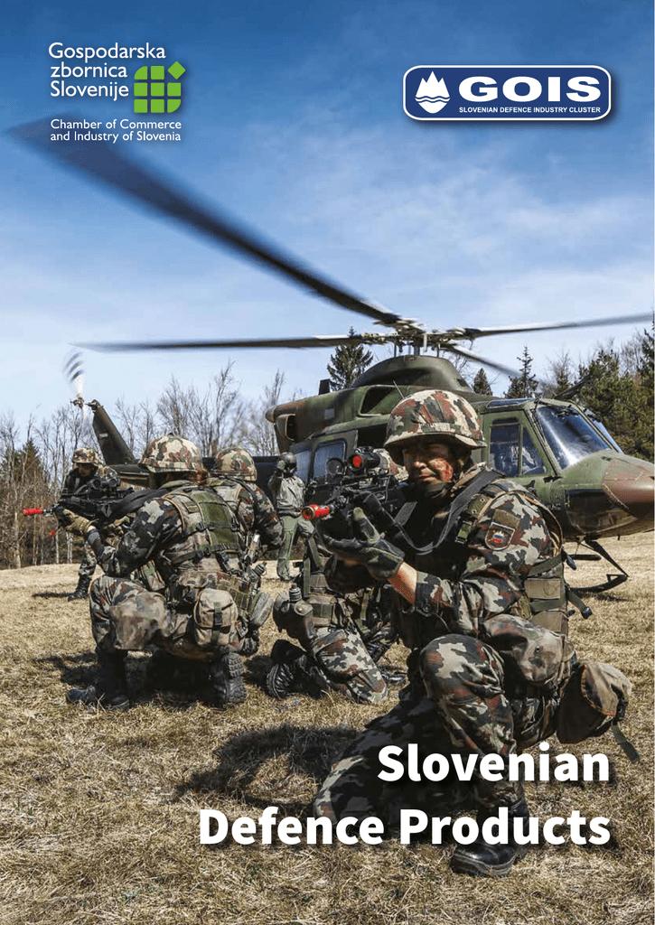 Slovenian Defence Products - Grozd obrambne industrije Slovenije