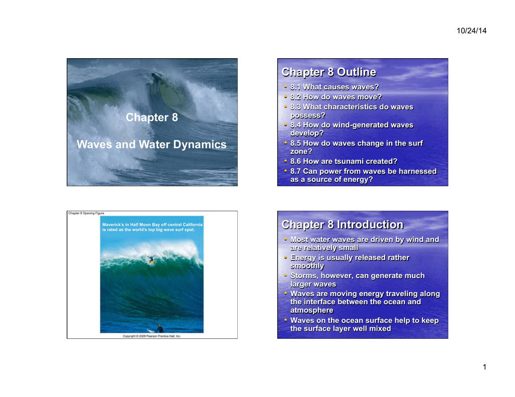Chapter 8 waves and water dynamics chapter 8 outline chapter 8 sciox Gallery