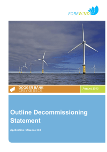 Outline Decommissioning Statement