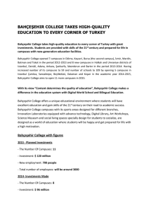 bahçeşehir college takes high-quality education to every corner of