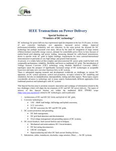 Frontiers of DC technology - IEEE Power and Energy Society