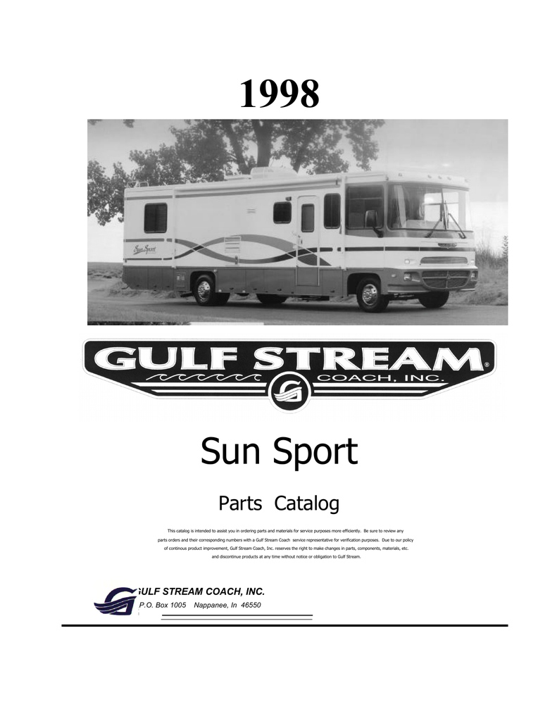 Gulf Stream Rv Batteries Wiring Diagram Electrical Diagrams 1987 Gulfstream 93 Hunter Thermostat Sunsport Converter Charger