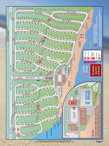 Site Map - Pismo Coast Village RV Resort