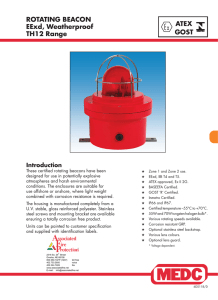 TH12 Beacon - Associated Fire Protection