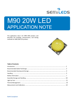 M90-20W Application Notes