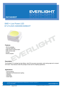 SMD Low Power LED 67-21/LK2C