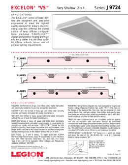 excelon® u201cvsu201d - Legion Lighting  sc 1 st  studylib.net & 502 Series Legion-Aire® Recessed 2x4 azcodes.com