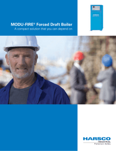 MODU-FIRE® Forced Draft Boiler