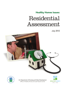 Residential Assessment - Healthy Housing Solutions