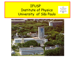 IFUSP Institute of Physics University of São Paulo