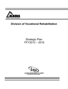 Strategic Plan 2013 - Alaska Department of Labor and Workforce