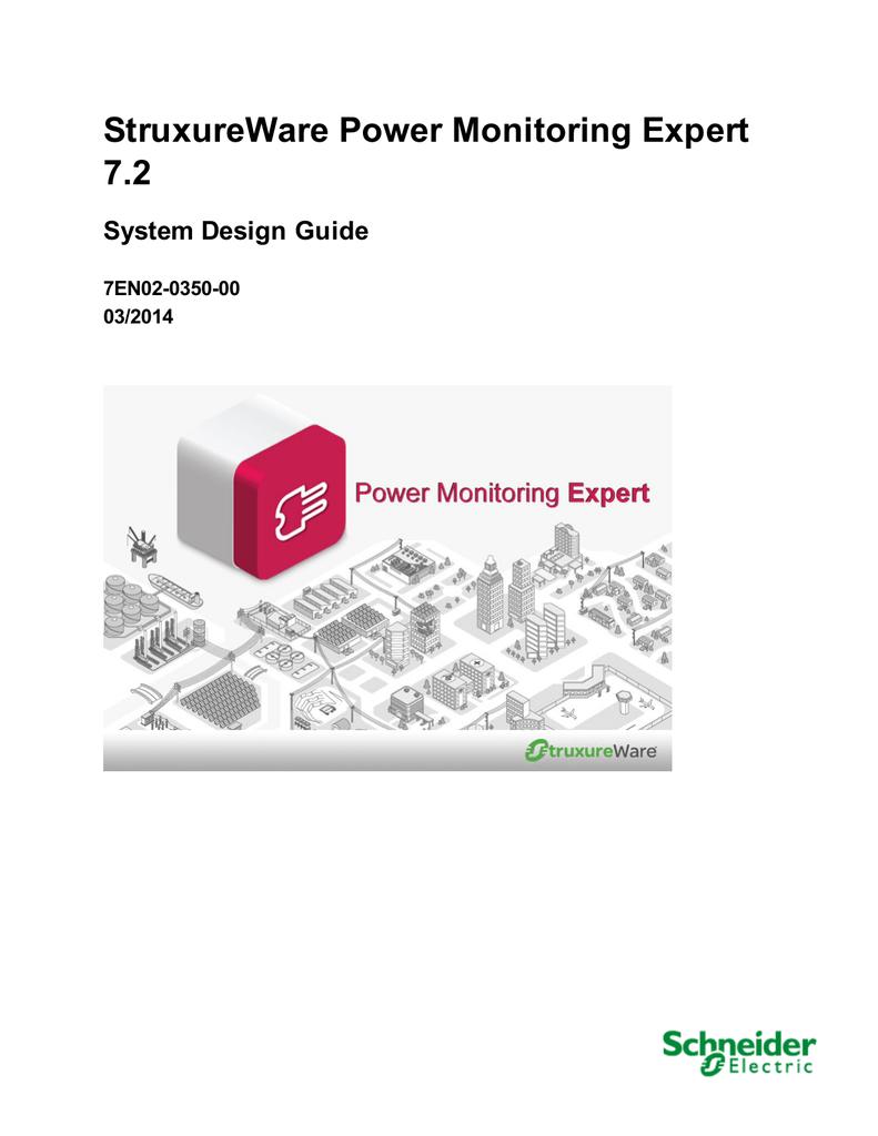 Struxureware power monitoring expert system design guide.
