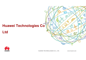 Huawei Technologies Co Ltd