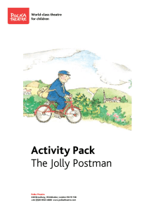 Activity Pack The Jolly Postman
