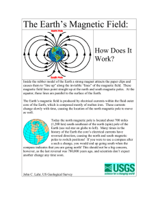 The Earth`s Magnetic Field