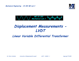 Displacement Measurements