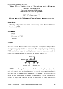 Instrumentation Lab TERM 052