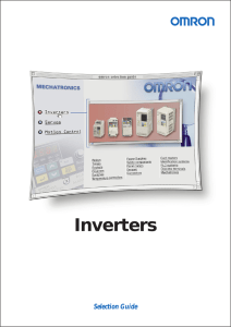 Inverters - Electrocomponents