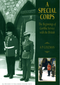 A Special Corps by A P Coleman, 1999