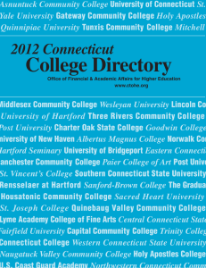 2012 Connecticut College Directory