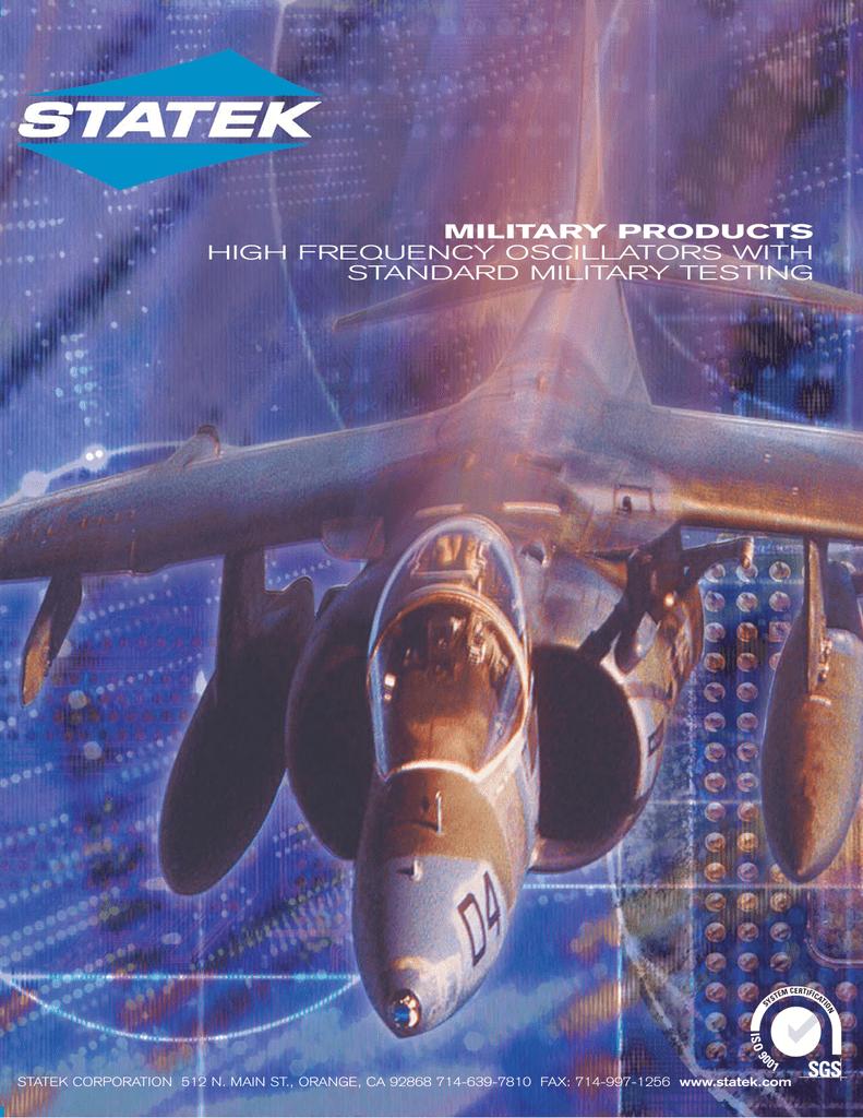 Statek Military Oscillators