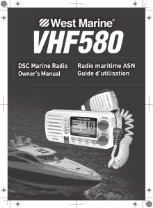 Your VHF-DSC Marine Radio - National Safe Boating Council