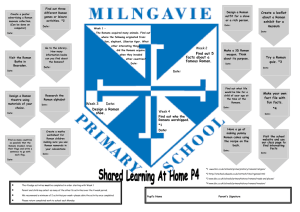 Primary 4 - Milngavie Primary School